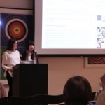 Critical Themes Co-Chairs Bria Cole and Lauren Treihaft (Left to Right)